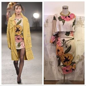 Tracy Reese Silk Floral Dress